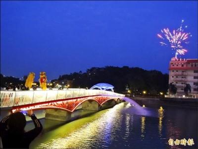 青岛金狮广场夜景